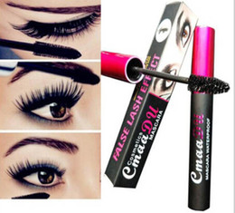 Wholesale Mascara Liners - CMAADU Professional waterproof sweat long 3D eyeliner Beautiful Long-lasting Waterproof Mascara Eye liner Pen - Free Shipping + Free Gift