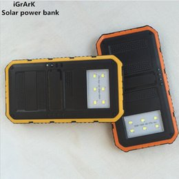 Wholesale External Back Up Charger - Wholesale-Hot sale sun lights charging power bank usb solar charger 2USB ports external back up power wholesales price