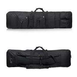 120 см винтовка тактический страйкбольный пистолет пистолет сумка ружье рюкзак с плеча сумка для охоты рыбалка кемпинг охота нейлон пейнтбол сумка от