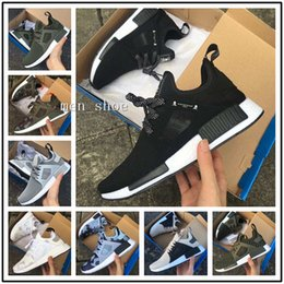 Wholesale Camo For Women - (With Box) Wholesale New NMD XR1 Boost Duck Camo Navy White Army Green for High quality MND Men Women Casual Shoes Drop Free Shipping 36-45