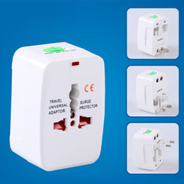 Wholesale World Plug - All in One Universal International Plug Adapter World Travel AC Power Charger Adaptor with AU US UK EU converter Plug CAB162