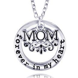 Wholesale Forever Pendants - necklace heart forever heart forever mom fashion jewelry pendant necklaces