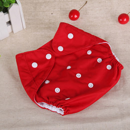 Wholesale Diaper Reusable - Baby Diaper Cover One Size Cloth Diaper Waterproof Breathable PUL Reusable Diaper Covers pants for Baby Fit 0-24kg Free Shipping