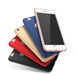 Wholesale Iphone Bumper Matte Back - Hard Plastic matte Case for iPhone 7 Cases 5s 6 6s plus 5 SE Luxury Back iPhone 7S Case PC bumper cover case