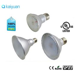 Wholesale Waterproof Led Par38 - CE ROHS Cul certification IP65 Waterproof PAR20 PAR30 PAR38 E26 E27 LED 110V-240V 7W 12W 15W Dimmable LED Ceiling Lamp Spot Light Bulbs