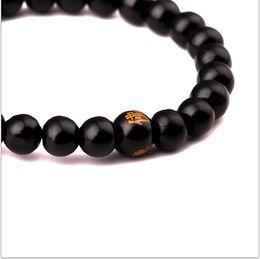 Wholesale Natural Sandalwood Beads - Newest buddha Natural Sandalwood Buddhist Buddha Meditation Wood Prayer Bead Mala Bracelet Women Men Jewelry free shipping
