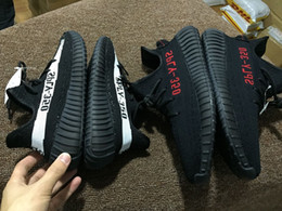 Wholesale Core Leather - With Box 2017 Men's Running Shoes Boost 350 V2 SPLY-350 STEGRY BELUGA SOLRED Grey Orange Women Sneakers Core Black White Red Boosts