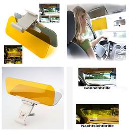 Wholesale Front Windshield Sun Shade Visor - Car Auto Anti Glare Dazzling Goggle Day & Night Vision Mirror Shield Sun Visor CDE_007