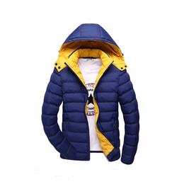 Wholesale Cheap Men Winter Hats - Wholesale- T china cheap wholesale 2016 autumn winter new male thickening keep warm cotton-padded jacket slim fashion casual outerwear