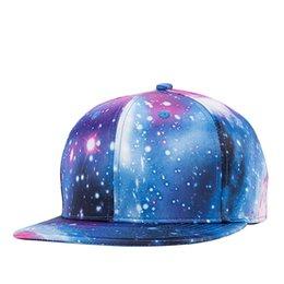 Wholesale Cycling Caps Cheap - 2017 New Fashion snapback hats blue galaxy brim cool cheap baseball caps dad cap ball baseball brand mens hats caps snapback cycling hats