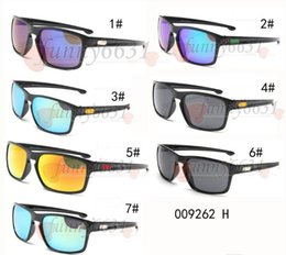 Wholesale Uv Coloured Sunglasses - summer newest men Bicycle Glass NICE sports sunglasses riding driving sunglasses woman UV Cycling Dazzle colour glasses A+++ free shipping