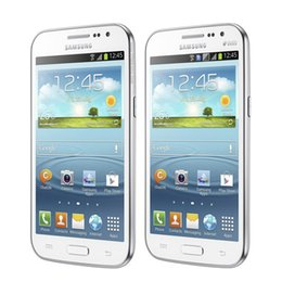 Wholesale 3g Android Cellphone Dual Sim - Refurbished Samsung Galaxy Win I8552 4.7inch Quad Core 1G RAM 8G ROM 5.0MP 3G Dual Sim Unlocked Cell Phones