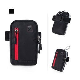 Wholesale Arm Wallets - Wholesale- Multi-functional Running Arm Bag Pouch Wrist Band Hand Sport Mobile Phone Hand Accessory Bags Waterproof Wallet Jogging Pouch