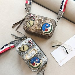Wholesale New Products Grains - High quality original quality original snake grain bags of luxury brand handbags fashion designers 2017 new products