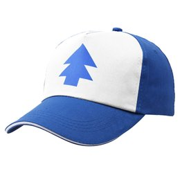 Wholesale Mens Mesh Hats - Sports Baseball Cap Mesh Hats Summer Breathable Mens Womens Trucker Hat Children Kids Gravity Falls Cap