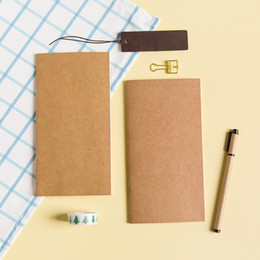 Wholesale Wholesale Filler Paper - Wholesale- Standard Notebook Planner Agenda Sketchbook Diary Filofax Journal Notebooks And Journals Travelers Notebook filler papers