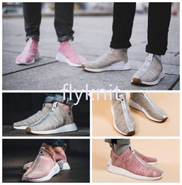Wholesale Naked Original - New Originals Outdoor Sports Sneakers Naked x Kith City Sock Mens Women Athletic Breathable NMD PK CS2 Primeknit Running Shoes Size 36-44