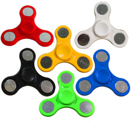 Argentina El más nuevo HandSpinner Fingertips Spiral Fingers Fidget Spinner Toy EDC Hand Spinner Acrílico Plastic Gyro Ansiedad Juguetes Regalo para Niños DHL Suministro