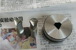 Wholesale Single Punch Machine Tablets - free shipping superman diamond shape pill die punch set for single tablet press machine