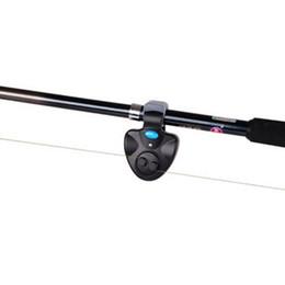 Wholesale Carp Fish Bite - Electronic Outdoor Fishing Alarm Fish Bite Alarm Finder Sound Alert Running LED On Fishing Rod Carp Fishing Tackle