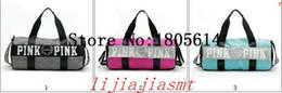 Wholesale Traveling Tote Bag - Hot bolsos mujer Fashion women shoulder bag &messenger bags Girl Pink VS Secret packets traveling bags pouch size 50cm*24cm