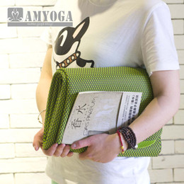 Wholesale Bag Thickness - Wholesale-2mm thickness anti-sliding strong natrual rubber travel yoga mat with carry bag