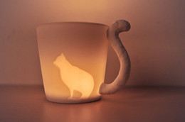 2019 дизайн упаковки кофе с розничной упаковке 5 стиль животных кружки матовый керамический подсвечник чашки воды белка кошка кролик олень лошадь дизайн чай кофе молоко чашки скидка дизайн упаковки кофе