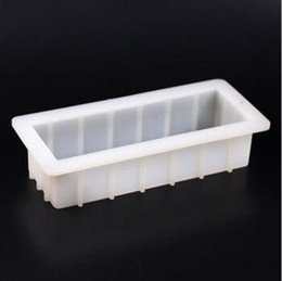 Wholesale Moulds Candles - Rectangle Soap Cake Mold Mould Cuboid Bar Loaf Candle Mold Resin Mold 1000ml