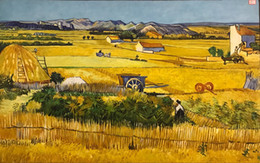 Wholesale Traditional Oil Paintings For Sale - High quality Vincent Van Gogh paintings for sale The Harvest Canvas art hand-painted