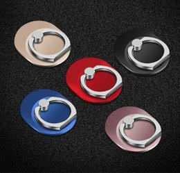 Wholesale Cellphone Metal Stand - Metal Ring Phone Holder with Stand Unique Mix Style Cell Phone Holder Fashion for iPhone 7 Plus Universal All Cellphone