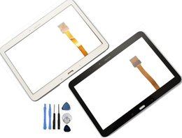 Wholesale Digitizer For Galaxy S2 - For Replacement Samsung Galaxy Tab 4 10.1 T530 SM-T530 T531 T535 Touch Screen Digitizer