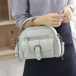 Wholesale New Bowling Bags - New Arrival Fashion Shoulder Bag Casual Simple Totes Fresh Cherry Messenger Bag Matte Leather Bag