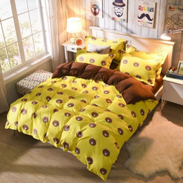 Wholesale Queen Suite - More color A variety of style optional fashion printing bed quilt cover the pillowcase four sheet type four bed is tasted suite