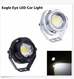Wholesale Car Lights Eye - 2PC IP67 LED10W DRL Eagle Eye Light Car Fog Lamp Daytime Running Reverse Backup wholesale price