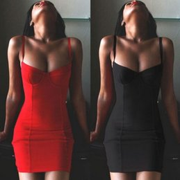 Wholesale Night Clothes For Women - 2017 New Sexy Women Summer Evening Club Dress Hot Selling Dresses for Women Clothes Fashion T-Shirt Plus Size Dress S M L XL