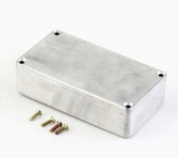 Wholesale Wholesale Guitar Pedals - Style Aluminum Stomp Box Effects Pedal 1590B Enclosure FOR Guitar Hotsell