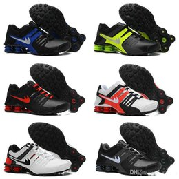 Wholesale Shox Athletic - Hot Sale Drop Shipping Famous Shox Current Men Athletic Sneakers Sports Running Shoes 12 Colors Mens Shoe Size 8-12