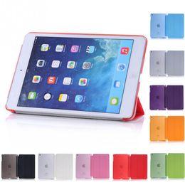 Wholesale Original Smart Case For Ipad - Ultra Thin For iPad Mini Original Baseus Simplism Series Wake Up Fold Stand Leather Case Smart Cover Protector For iPad Mini1 2 3