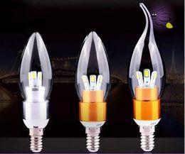 Wholesale E14 3w Warm Candle - 3 Watt factory high good 85-265 v energy saving candle lamp LED light source candle lamp light source wholesale