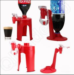 Wholesale Drinking Gadget Fizz - Coke Cola Drinks Water Dispense Machine Creative Soda Dispenser Gadget Fridge Fizz Saver Water Machine LJJO991