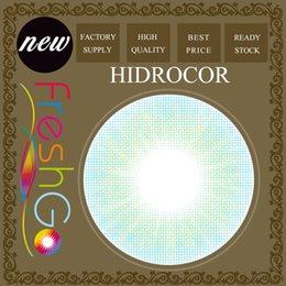 Wholesale Cosmetic Stocks - Hidrocor Color Contact Lenses Cosmetic Contact Lenses Without Limbal Ring Ready Stock Free Shipping