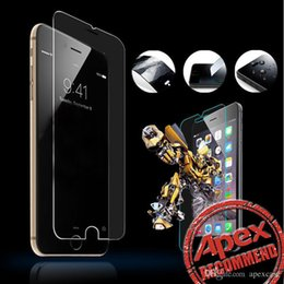 Wholesale Clear Screen Protector Film - High Quality Premium Tempered Glass Screen Protector for iphone samsung sony Clear Screen Protectors Toughened Film