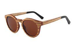 Occhiali da sole del pattino online-nuovo modello shades occhiali con montatura occhiali 2018 cat 3 uv400 polarizzati personalizza il tuo colore zebra occhiali da skate in legno