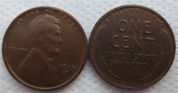 Wholesale Free People Usa - 1914D LINCOLN ONE CENTS COPY USA coins differ Crafts Free Shipping Promotion Cheap Factory Price nice home Accessories Coins