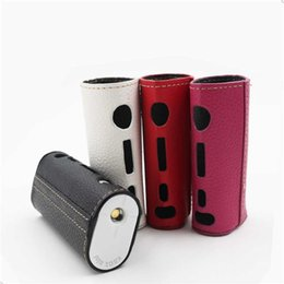 Wholesale Decorative Mini Bags - Leather Case For Subox Mini Protective Sleeve Cover Carrying Decorative Bag Leather Material E Cigarette Case For Subox Mini box mod DHL