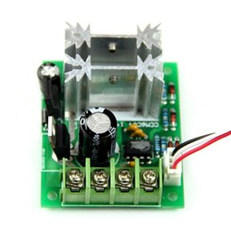 Wholesale Dc Motor Speed Control Pwm - Wholesale-PWM DC 6V 12 24V 10A Pulse Width Modulator Motor Speed Control Switch Hot Vl