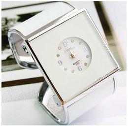 Wholesale Ladies Bracelet Watch Fashionable - 2016 rhinestone bracelet watches Fashionable Xinhua Rectangle Square Dial Bracelet Fashion Wrist Watch feminino ladies women dress hour