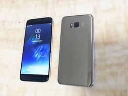 Wholesale Best Bluetooth Gps - Goophone S8 Best Clone GLA 7.0 Version Phone MTK6580 1G Ram 8GB Rom 8MP Camera 1280*720 Pixels Show 4G ram 64G rom Smartphone wholse sell