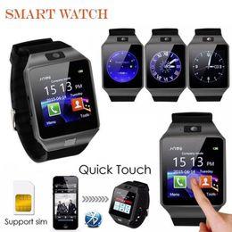 Wholesale German Retail - DZ09 Smart Watch Bluetooth Smartwatches Dz09 Smart watches with Camera SIM Card For Android Smartphone SIM Intelligent watch in Retail Box