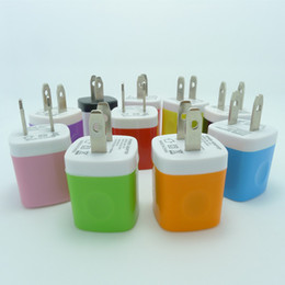 Wholesale Mobile Phone Travel Charger - 200PCS Universal Mini USB Home AC Power Adapter Travel Charger US Plug Wall Charger Adaptor Charging For universal smart mobile phone